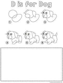 Dog Drawing Tutorial