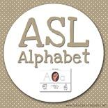 Teacher's Notebook ASL Alphabet