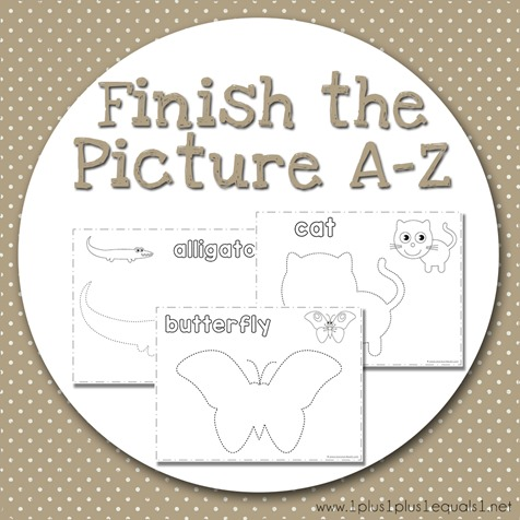 Finish the Picture A-Z
