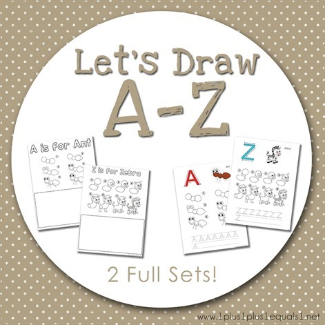 Let's Draw A to Z[21]