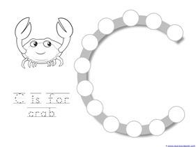 Ocean Animals Dot Fun Printables (2)