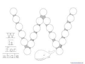 Ocean Animals Dot Fun Printables (9)