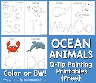 Ocean-Animals-Q-Tip-Painting-410