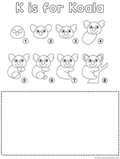 Koala Drawing Tutorial