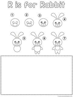 Rabbit Drawing Tutorial