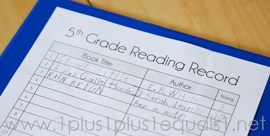 5th Grade -5086