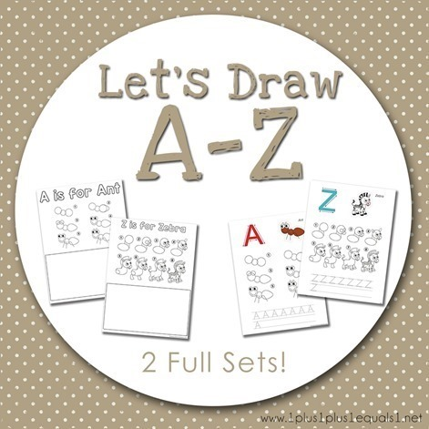 Let's Draw A to Z