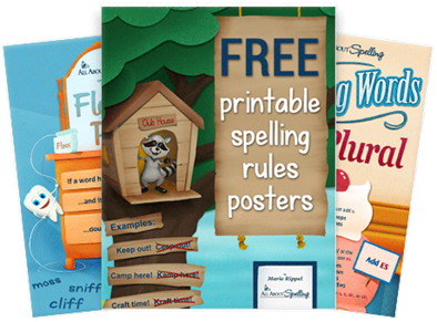 Printable Spelling Rules Posters