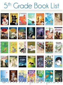 5th Grade Book List