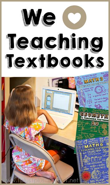We Love Teaching Textbooks Math