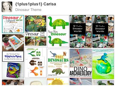 Dinosaur Pinterest Board