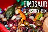 Dinosaur-Theme-Sensory-Bin