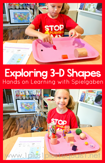 Exploring 3D Shapes with Spielgaben