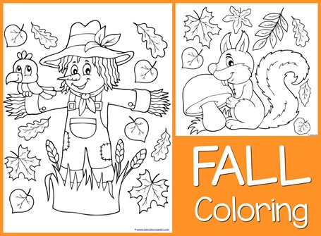 Fall Coloring