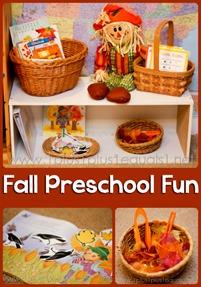 Fall Preschool Fun