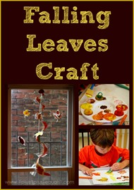 Falling Leaves Craft