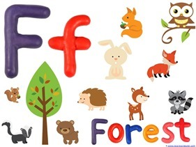 Forest Animals Printables (10)