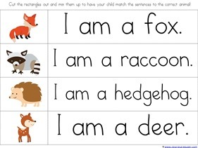 Forest Animals Printables (23)