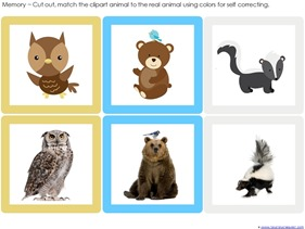 Forest Animals Printables (7)