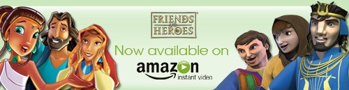 Friends and Heroes on Amazon