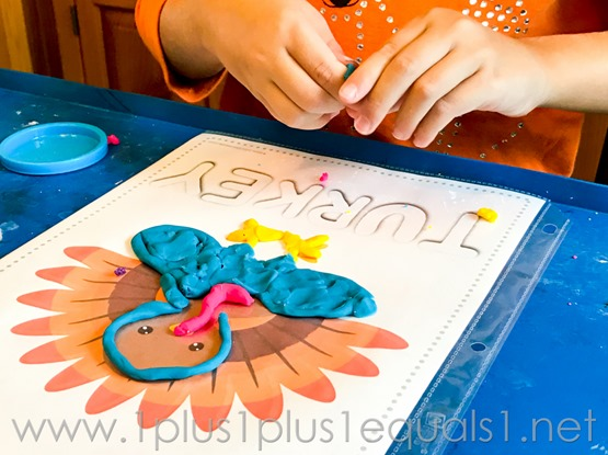 Fall Play Dough Mats -7813
