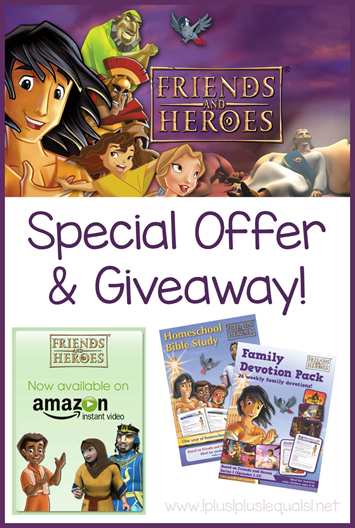 Friends and Heroes Special Offer and Giveaway!