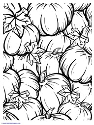 Pumpkin Coloring (1)