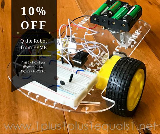 Q the Robot Discount