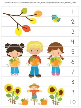 Fall Printable Puzzle