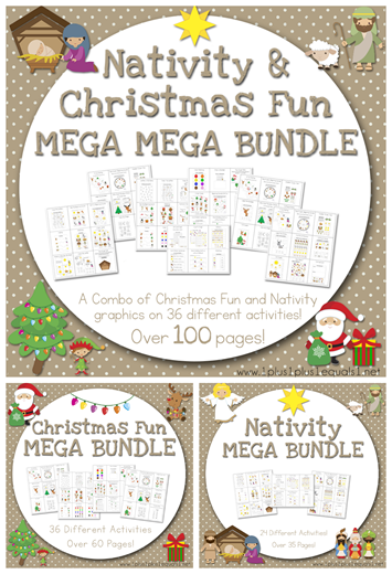 Christmas Mega Bundles from 1 1 1=1