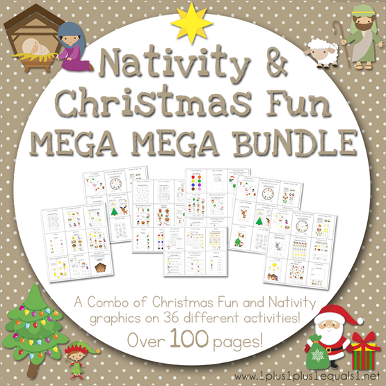 Nativity and Christmas Fun Mega MEGA Bundle