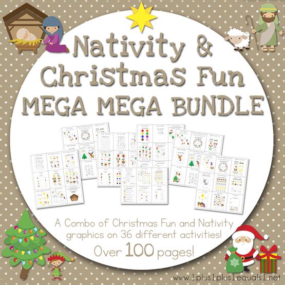 Nativity and Christmas Fun Mega MEGA Bundle