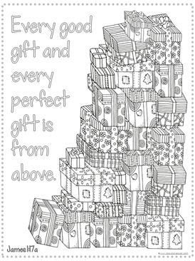 Christmas Bible Verse Coloring Pages 1 1 1 1