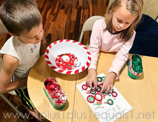 Christmas Multiplication Games -0848