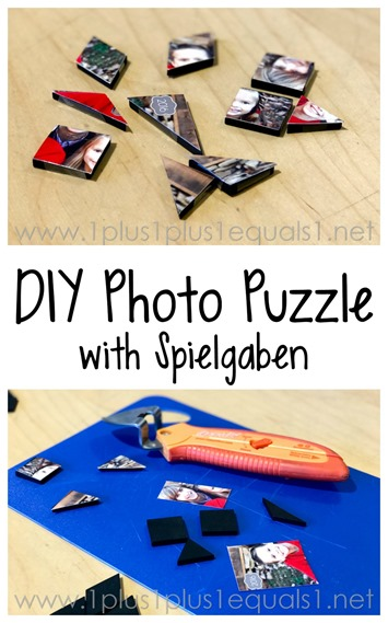 DIY Photo Puzzle with Spielgaben