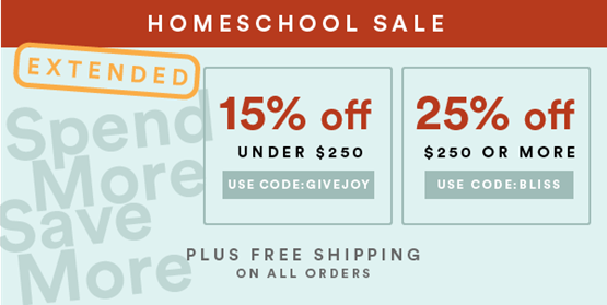 EXTENDED - Home School Sale_600X300