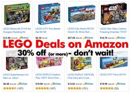 LEGO Deal 2016