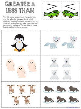 Snowy Fun Math Pack (1)