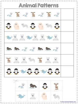 Snowy Fun Math Pack (6)