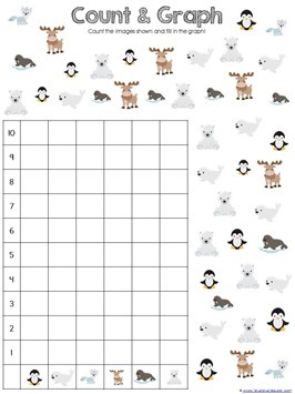 Snowy Fun Math Pack (8)