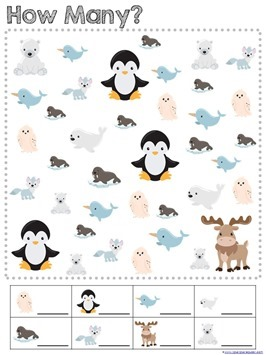 Snowy Fun Math Pack (9)