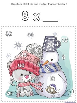 Winter Multiplication Games (10)