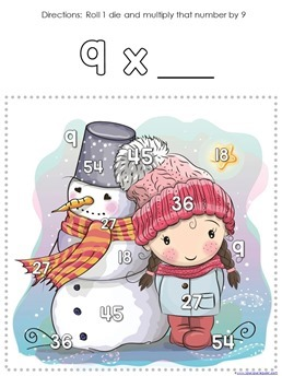 Winter Multiplication Games (11)