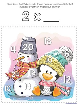 Winter Multiplication Games (14)