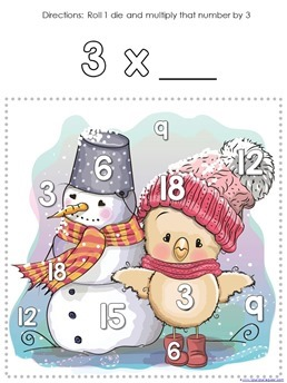 Winter Multiplication Games (5)