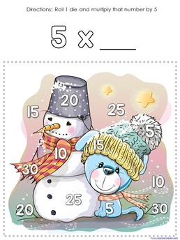 Winter Multiplication Games (7)