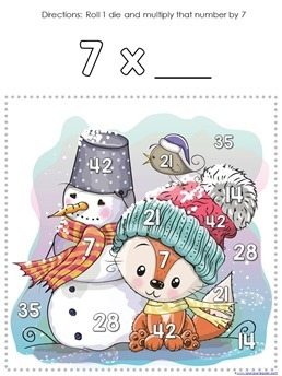 Winter Multiplication Games (9)