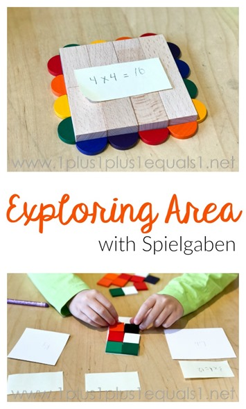 Exploring Area with Spielgaben
