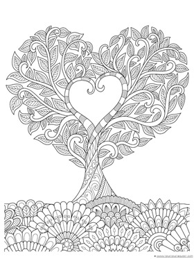 Heart Coloring (3)