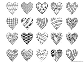 Heart Coloring (5)